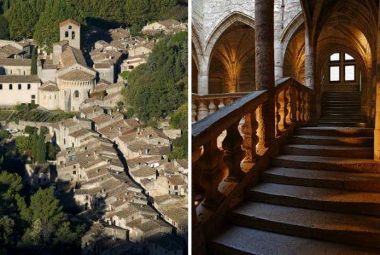 Städtchen Saint-Guilhem und Pézenas