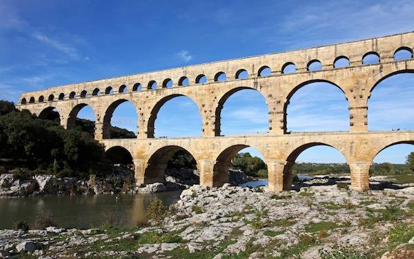Pont du Gard im Languedoc Roussillon
