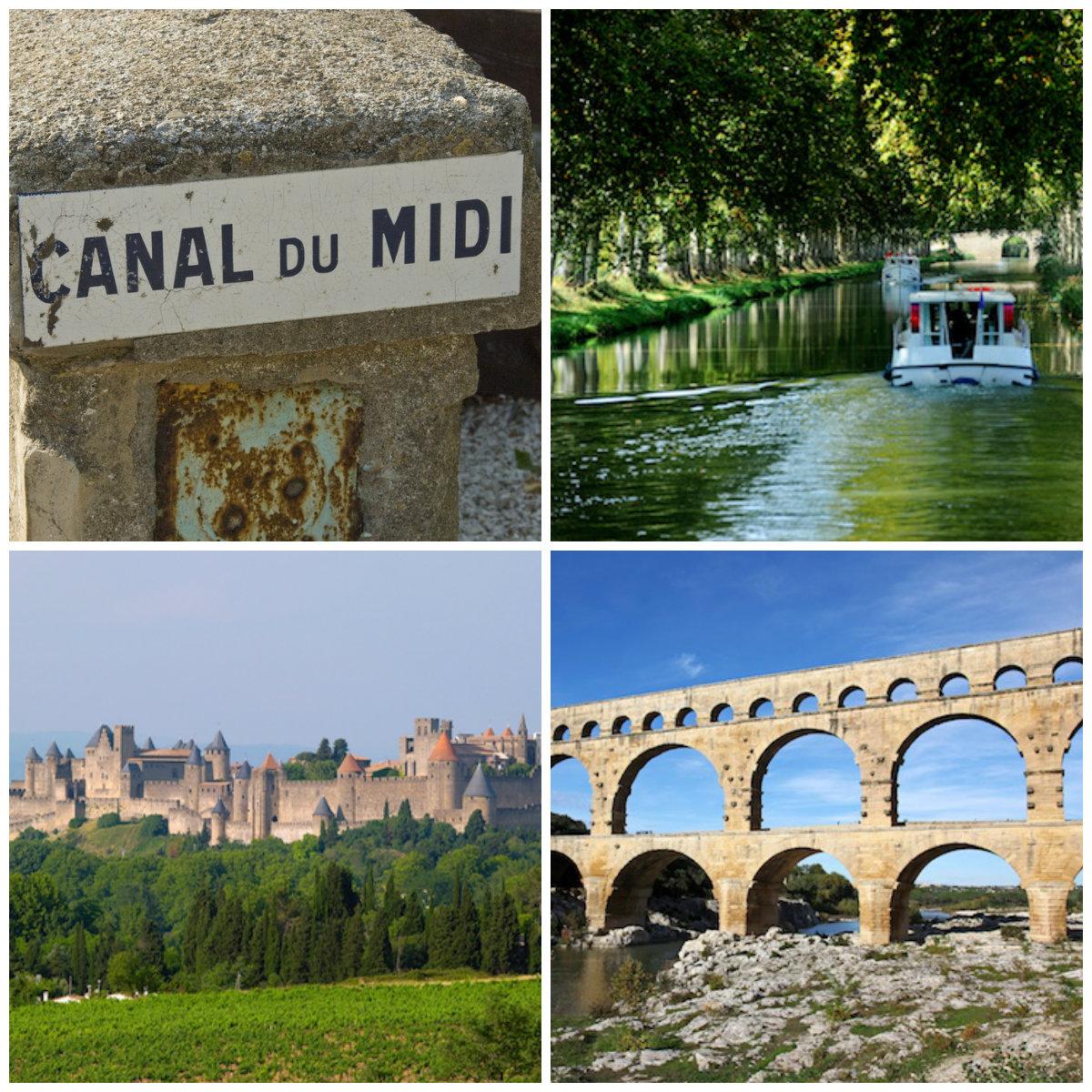 Spektakulärste Sehenswürdigkeiten im Languedoc Roussillon