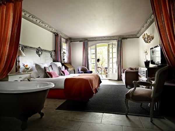 Zimmer im Hotel Villa Marie