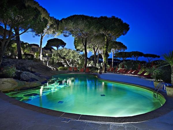Schwimmbad van Villa Marie
