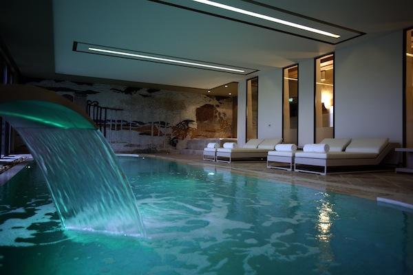 Das 2000 qm große Spa verspricht pure Entspannung.