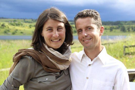 Laurence und Daniel van Ecolodge Instants d'Absolu
