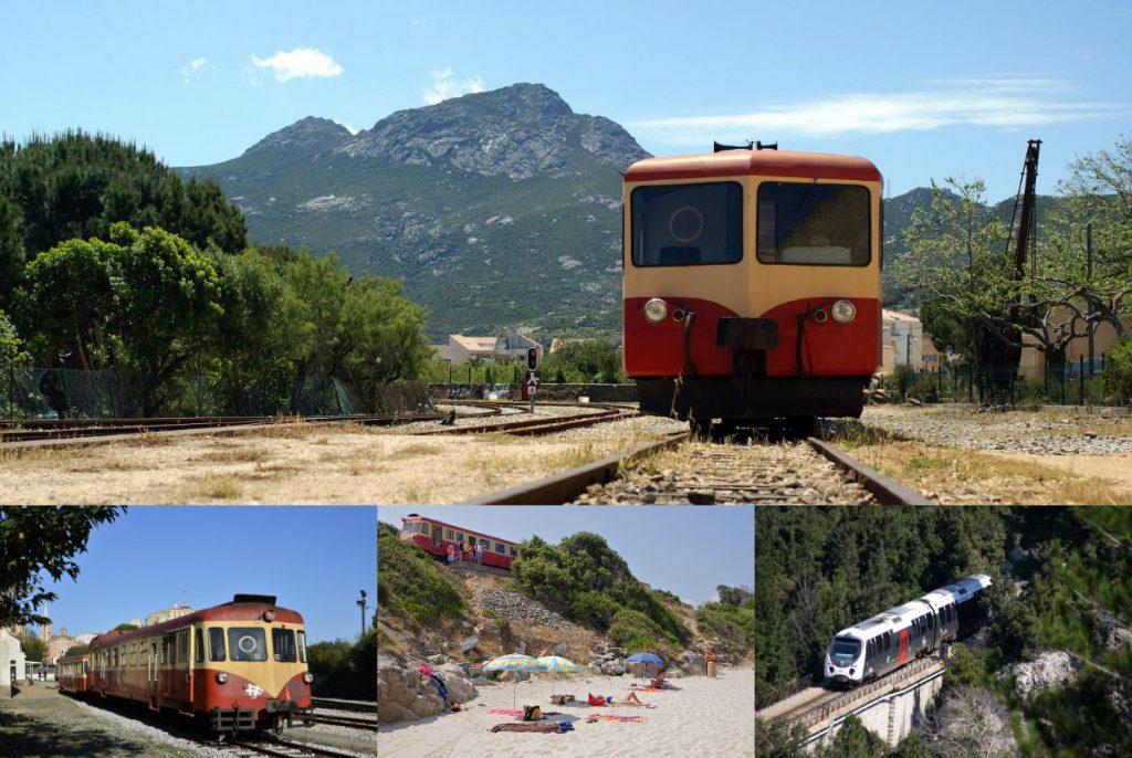 Mit dem Zug Korsika durchqueren