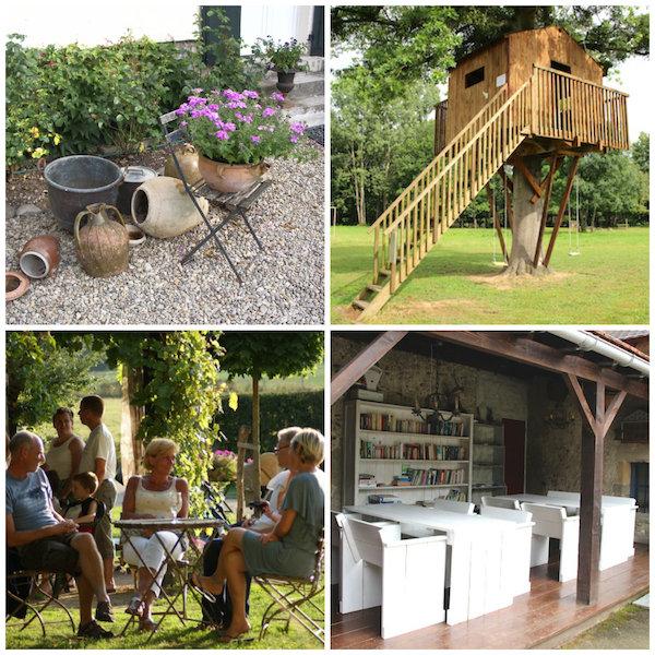 Campingplatz in der Auvergne: Domaine les Gandins