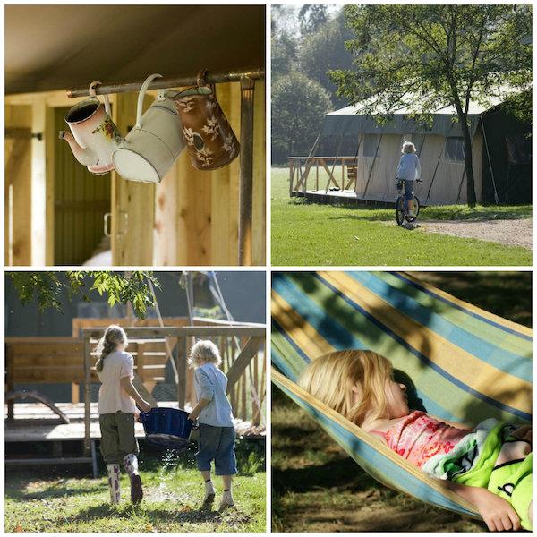 Glamping inmitten der Natur in der Auvergne - Kinderfreundlich