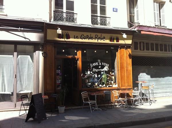 Weinbar la Garde Robe Paris