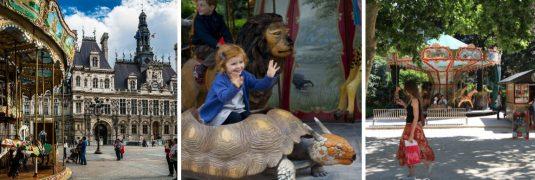 Paris-mit-Kinder-draaimolens