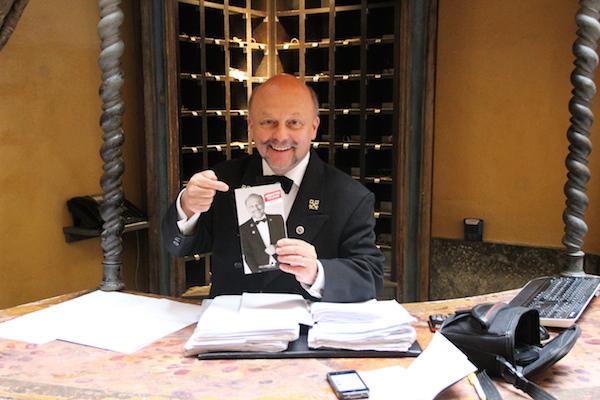 Gérard Ravet Concierge Hotel Cour des Loges Lyon