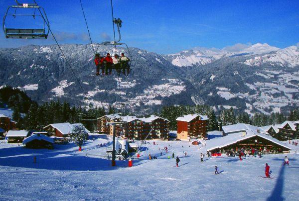 kleine Dörfer nahe großer Skigebiete: Morillon