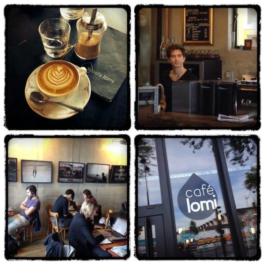 Café Lomi Parijs Kaffee bestellen in Frankreich
