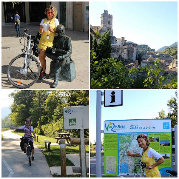 Tour auf der ViaRhona: Ardèche und Drome
