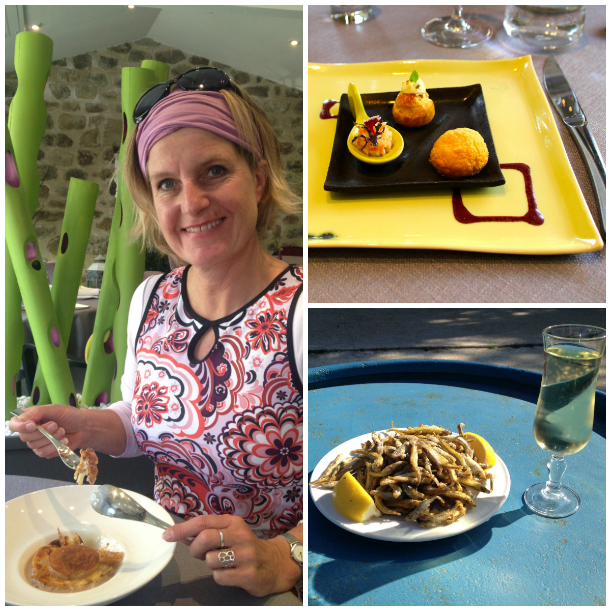 Weinproben und Restaurants entlang der Strecke von ViaRhona