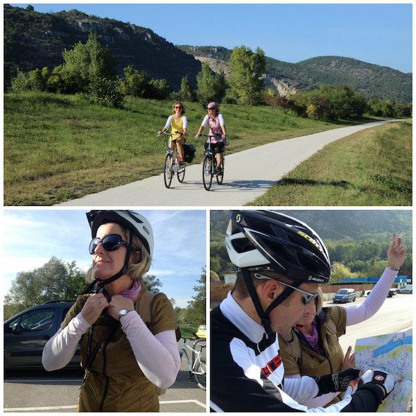 Tour auf der ViaRhona: makellos asphaltierte Radweg bei Belley