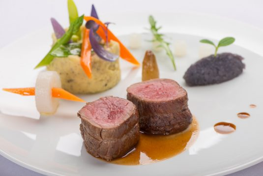 Fine dining bei La Begude Gard
