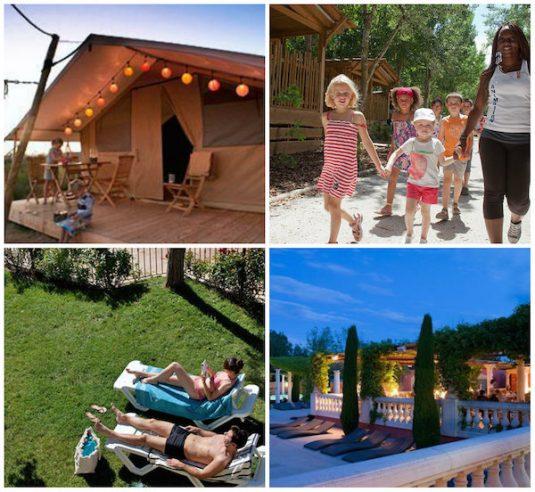 Campingplatz für Eltern Serignan Plage