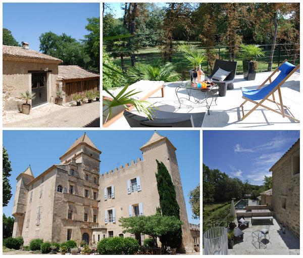 trendy Ferienhäuser Domaine de Ribaute Languedoc Roussillon