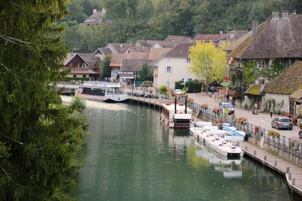 Radtour über die ViaRhôna: Chanaz