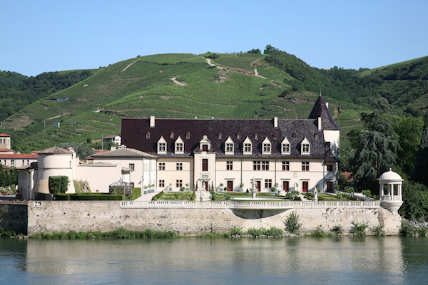 beeindruckendes Schloss Chateau d'Ampuis