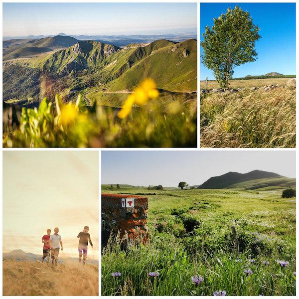 Landschaften der Auvergne