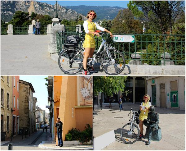 Radtour über die ViaRhôna: Valence