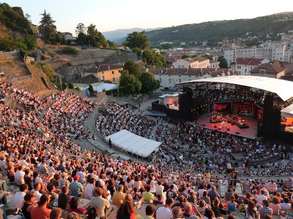 Vienne Jazzfestival im Amphitheater