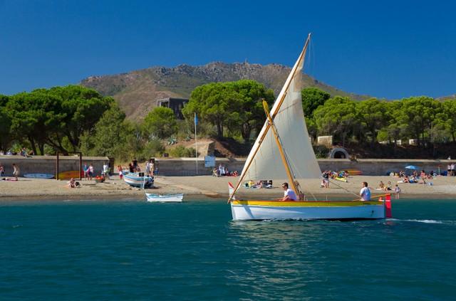 Bucht von Paulilles, ein herrlicher Küstenabschnitt der Côte Vermeille