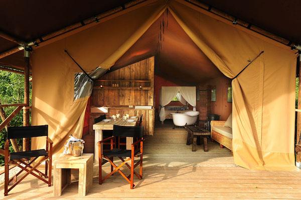 Safaritzelte Kimaro Farmhouse im Burgund