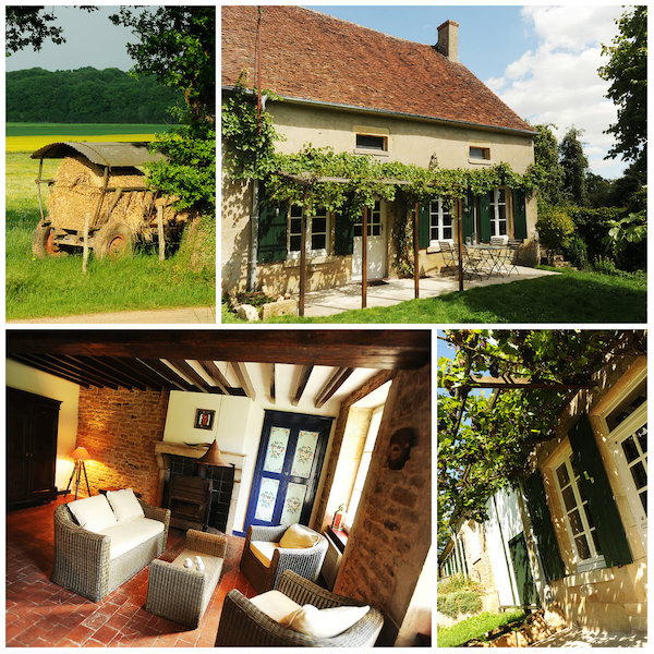 Ferienbauernhof im Bourgogne