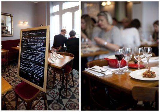 Restaurant Bistrot Belhara in einem Viertel nahe dem Eiffelturm