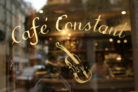 Le Café Constant: down-to-earth Bistro in Paris