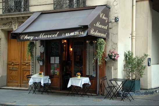 Restaurant chez Marcel bei Montparnasse