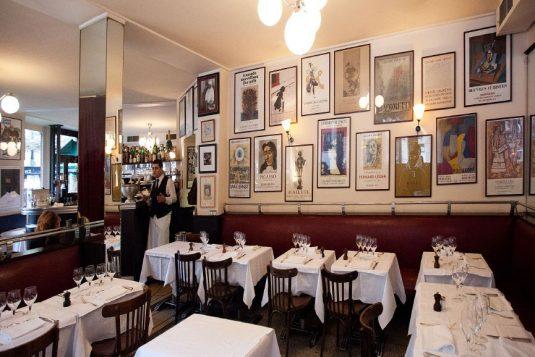 Bistro Chez Renée auf dem Boulevard Saint-Germain