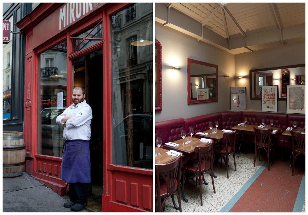 Restaurant Le Miroir, authentischer französischer Küche in Paris