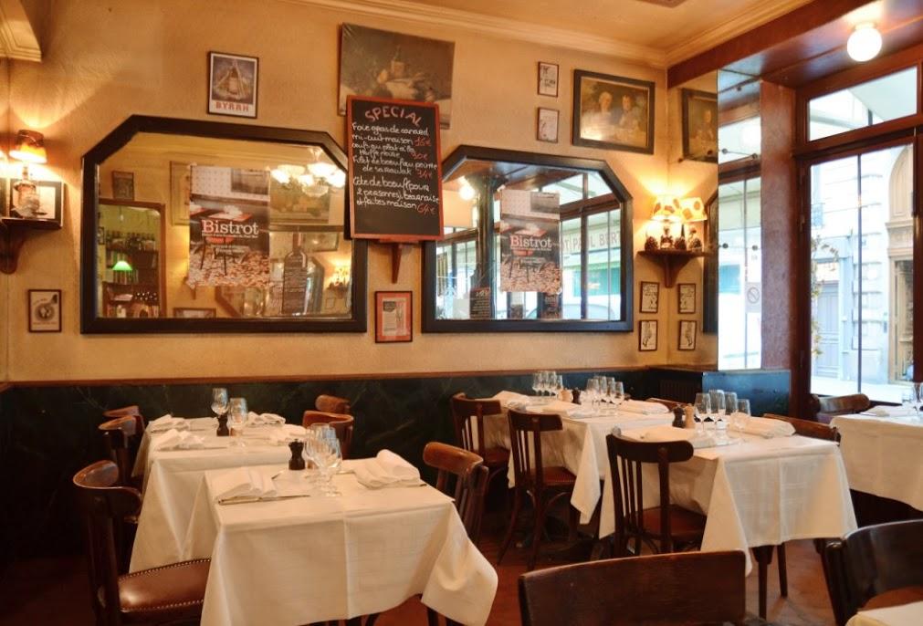 stilvolles Restaurant Le Bistrot Paul Bert