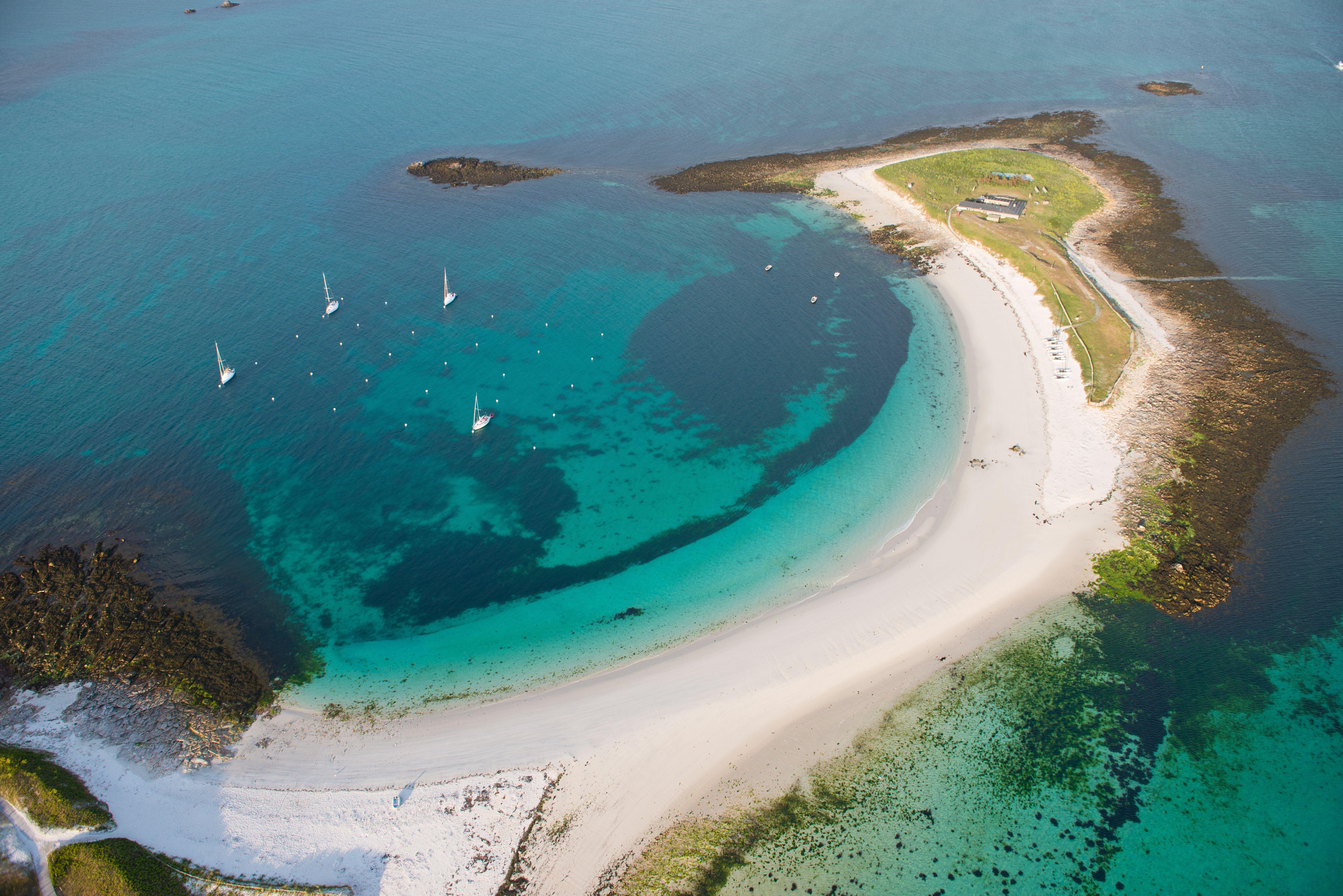 Glénan mooiste Franse eilanden