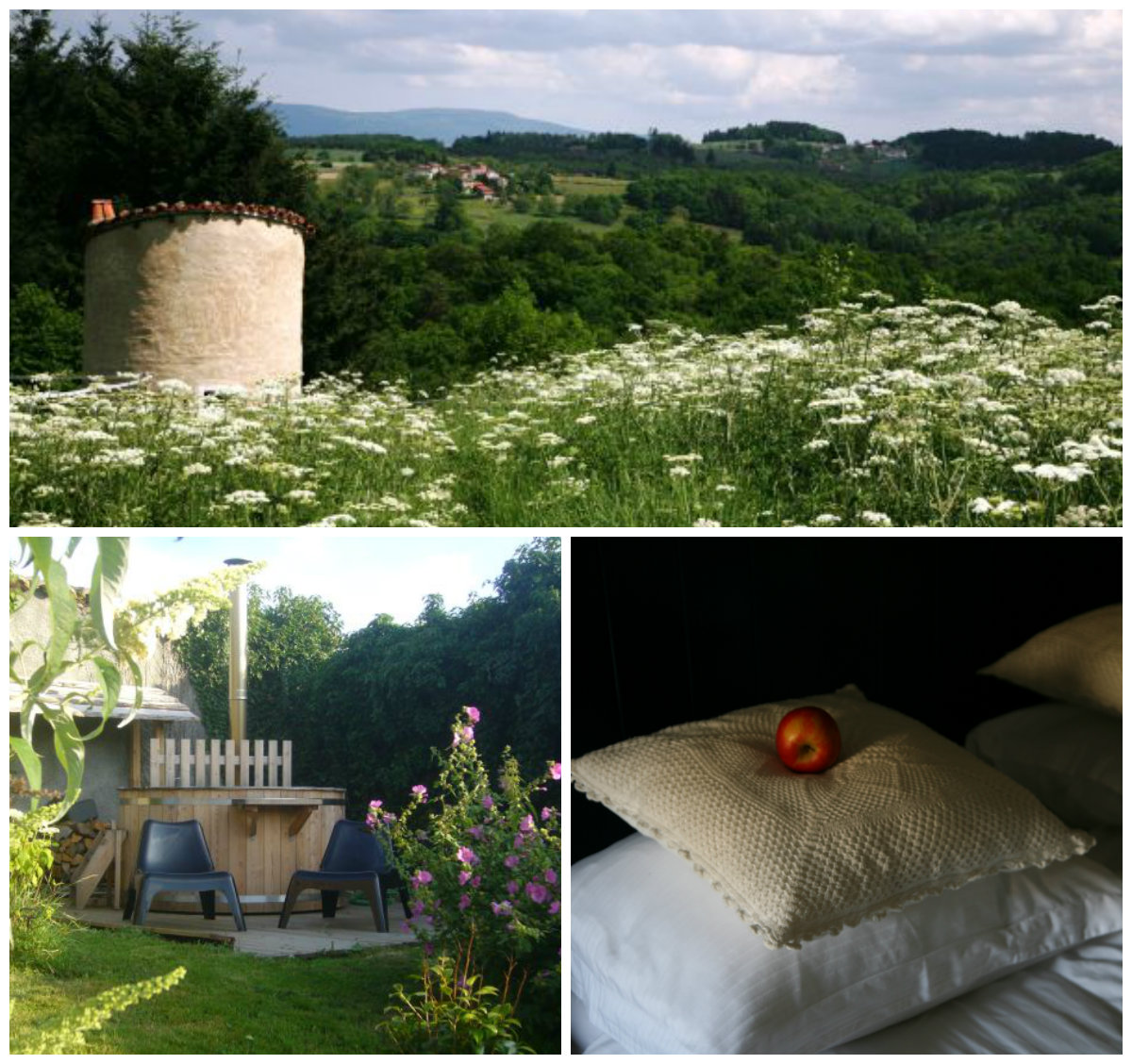 B&B in de Auvergne Paresse en douce