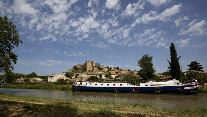 Urlaub über den Canal du Midi