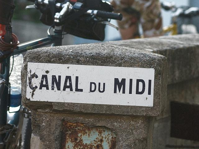 Eine Fahrt über den Canal du Midi Languedoc-Roussillon