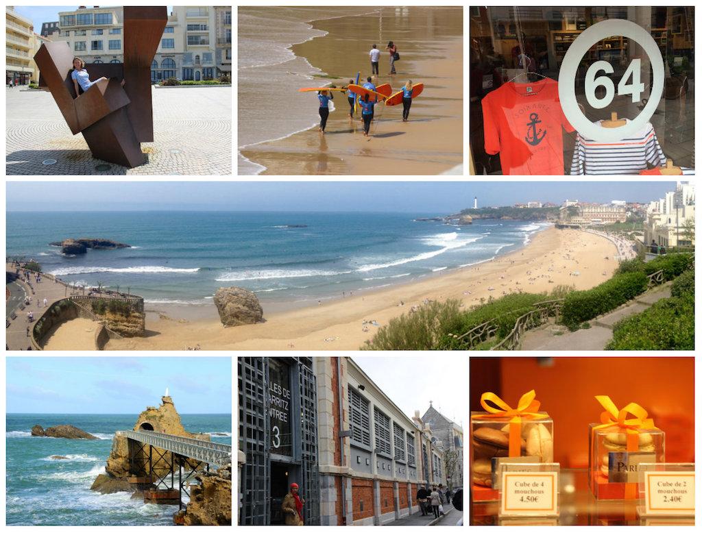 Biarritz-Aquitaine Südwestküste Frankreich