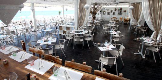 Restaurants am Meer Strand Zelte- le carré mer - Languedoc-Roussillon