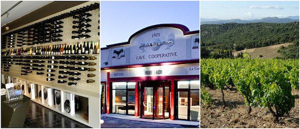 Eldorado für Weinkenner: Weinhotel Riberach in Belesta