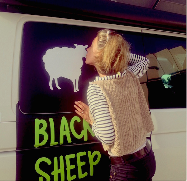 Black Sheep Campervan an der Atlantikküste
