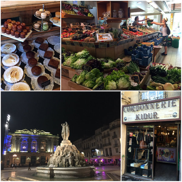 Montpellier Comedie et rude de la Loge