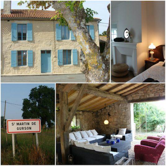 Ferienhaus ins Dorf Saint-Martin-de-Gerson
