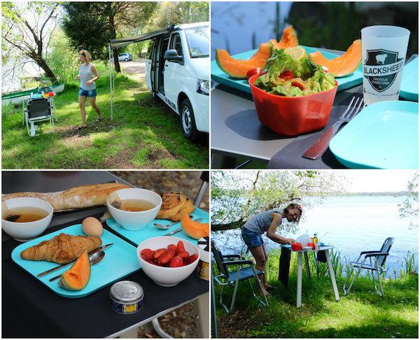 Essen im Campervan