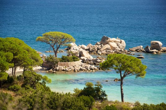 Schönsten Strände Frankreichs-Palombaggia-Corsica