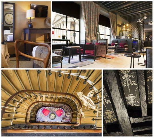 5 unabhängig voneinander geführte Hotels Paris Rive Gauche