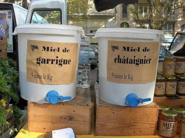 Markt von Montpellier