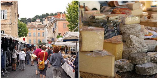 markt von Apt in Provence